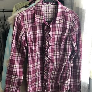 ⭐Woman's pink Guess button down- size S